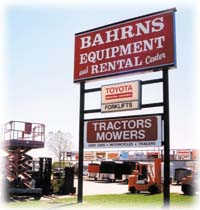 Bahrns Equipment