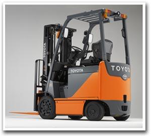 Toyota's Electric Forklift 8 Series