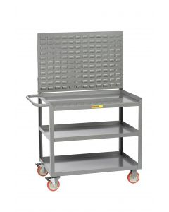 Little Giant Mobile Workstation with 3 Shelves 3MW24365TL