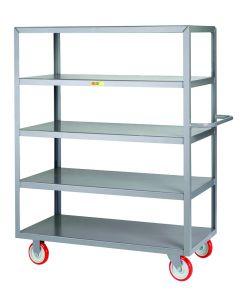 Little Giant Welded 5-Shelf Service Cart 5LM24485PY