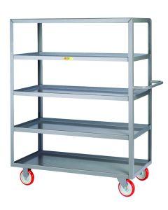 Little Giant Welded 5-Shelf Service Cart 5LML24485PY