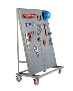 Little Giant Mobile Pegboard A-Frame with Single Sided AFPB1S2448TL60