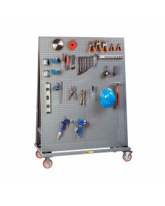 Little Giant Mobile Pegboard A-Frame with Double Sided AFPB2S2448TL60