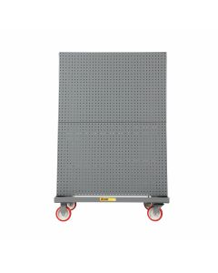 Little Giant Mobile A-Frame – Lean Tool Cart With Pegboard Side & Louvered Side AFPBLP24365PY