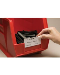 AIGNER LABEL HOLDERS FOR PLASTIC BINS
