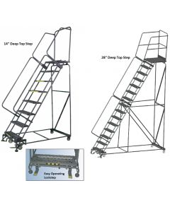 M-2000 ROLLING SAFETY LADDER