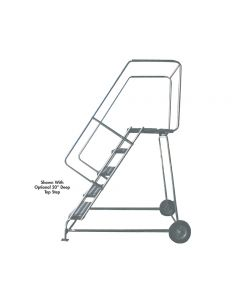 ALUMINUM LADDERS-WHEELBARROW STYLE