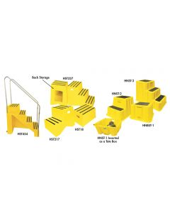 PLASTIC STEPS & STAIRS