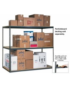 RIVET-LOCK BULK STORAGE RACKS