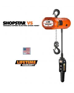 CM SHOPSTAR VS VARIABLE SPEED ELECTRIC CHAIN HOIST
