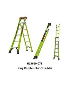 KING KOMBO™ 3-IN-1 ALL ACCESS LADDER