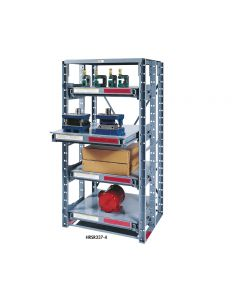 ROLL-OUT SHELF RACK