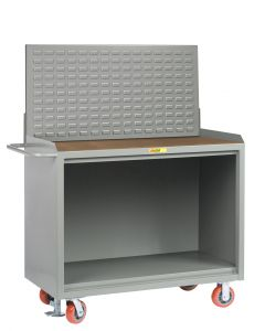 """Little Giant Heavy-Duty Mobile Bench Cabinets Without Center Shelf and Available in 1/4"""" Hardboard MH2448FL"""