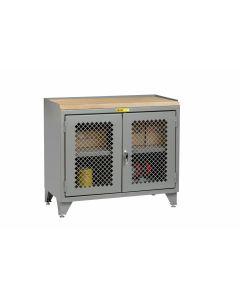 Little Giant Bench Cabinet with Welded Center Shelf MJP3LL2D2448