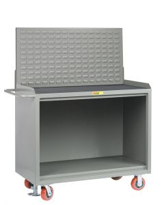 Little Giant Heavy-Duty Mobile Bench Cabinets Without Center Shelf and Available in Non-Slip Vinyl MM2448FL