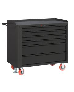 Little Giant Mobile Tool Cabinet With 2 Shallow & 2 Deep Drawers and Available in Non-Slip Vinyl MMT36-4S2DFL