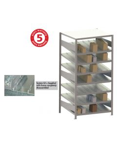 META CLIP S3 GRAVITY FED RACK - ADDITIONAL SHELVES
