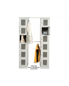 SET-UP STYLISH LOCKERS - COAT ROD KIT