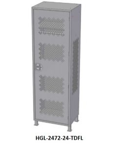 GEAR LOCKER STORAGE CABINET