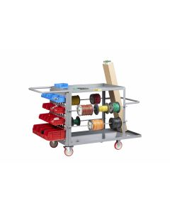 Little Giant Wire Reel Cart with Louvered Panel RCLP24485TL