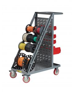 Little Giant Wire Reel Cart with Louvered Panel Back RT45TLLP