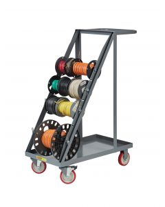Little Giant Wire Reel Cart with Open Black RT45TL