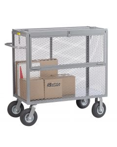 """Little Giant Security Box Truck with 9"""" x 3"""" Pneumatic SB24489P"""