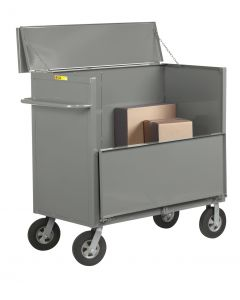 """Little Giant Security Box Truck with Solid Sides and 10"""" x 2-3/4"""" Solid Rubber SBS244810SR"""