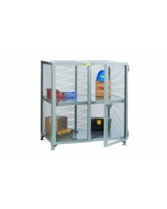 Little Giant Welded Storage Cabinet with1 Fixed Center Shelf SC2448NC