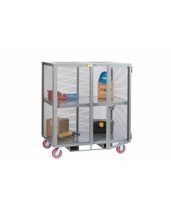 Little Giant Forkliftable Mobile Storage Locker and 1 Center Shelf 21-3/4' Clearance SC30486PYFP