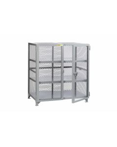 Little Giant Welded Storage Cabinet with 2 Center Shelves SC22448NC