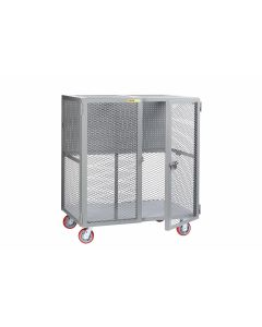 Little Giant Tool Security Cart with Pegboard Tool Storage SCN24486PYPB