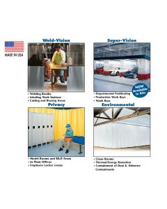 INDUSTRIAL CURTAIN SYSTEMS/STANDARD - WELD-VISION