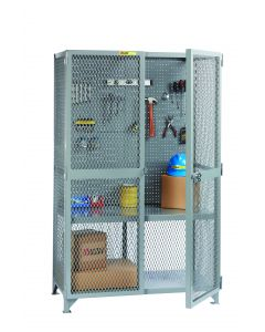 Little Giant Tool Storage Locker with Pegboard Panel SL12448PB