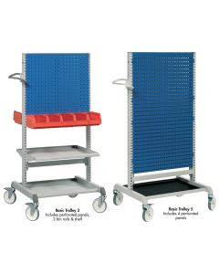 PERFORATED TOOL BOARD CARTS