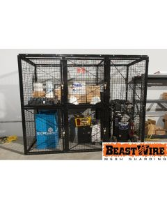 MESH STORAGE LOCKERS - LOCKER OPTIONS