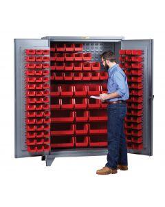 Little Giant High Capacity Storage Bin Cabinet SSLLP2448LPD