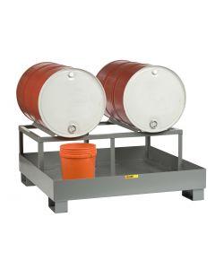 Little Giant Spill Control Platform with Drum Rack - 2 Drums SST51512D