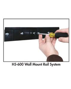 LOCBIN™ WALL MOUNT RAIL
