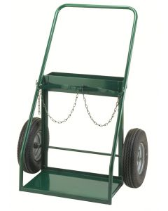"""Little Giant Dual Gas Cylinder Hand Truck with 16"""" x 4"""" Pneumatic TW5016P"""