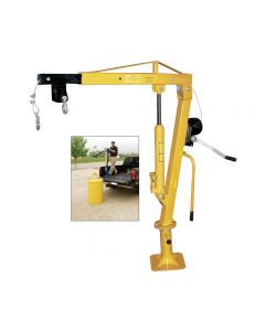WINCH OPERATED TRUCK JIB CRANE