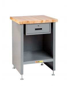 Little Giant Compact Work Center Cabinet with Drawer WTC2424LLDR