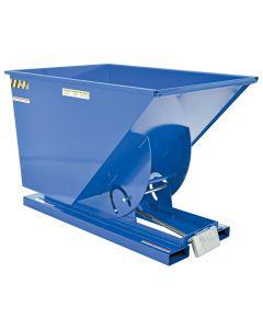 Vestil SELF-DUMP HOPPER HD 1 CU YD 6K BLUE