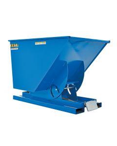 Vestil SELF-DUMP HOPPER MD 1 CU YD 4K BLUE