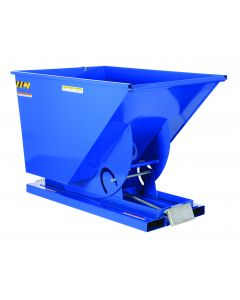 Vestil SELF-DUMP HOPPER MD 1.5 CU YD 4K BLUE