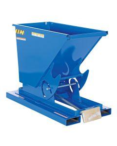 Vestil SELF-DUMP HOPPER LD .25 CU YD 2K BLUE