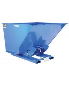 Vestil SELF-DUMP HOPPER MD 2.5 CU YD 4K BLUE
