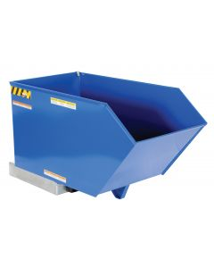 Low Profile Self-Dumping Steel Hoppers -Heavy Duty - 8 Gauge