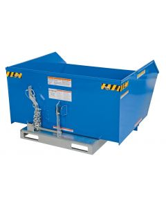 Low Profile Self-Dumping Steel Hoppers-Heavy Duty