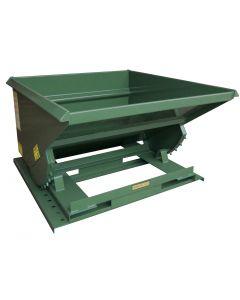 Steel Self-Dumping Hoppers Light Duty 2,000 Lb Capacity